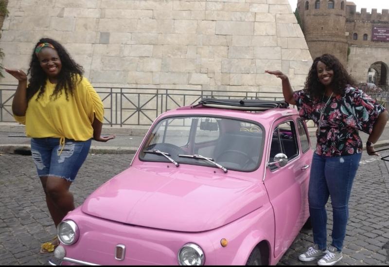 Experience a UNIQUE tour in Rome aboard a Fiat 500 vintage car! Happiness exists, make it happen!