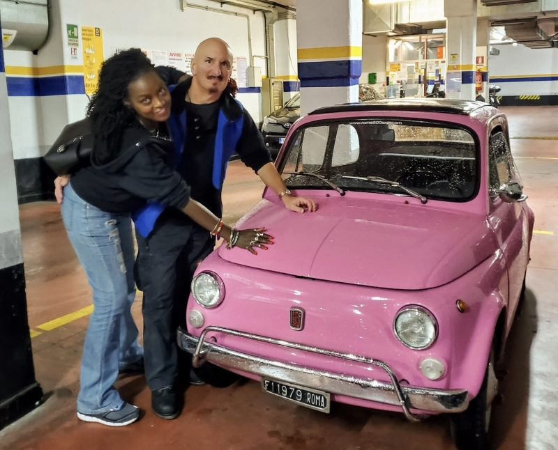 WOW somebody you love! EXP Magic aboard our FIAT 500 classic cars.  Happiness exists, make it happen!