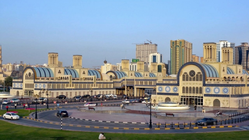 Sharjah Souk area