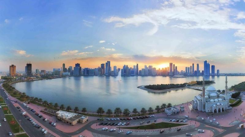 Sharjah Sky line view