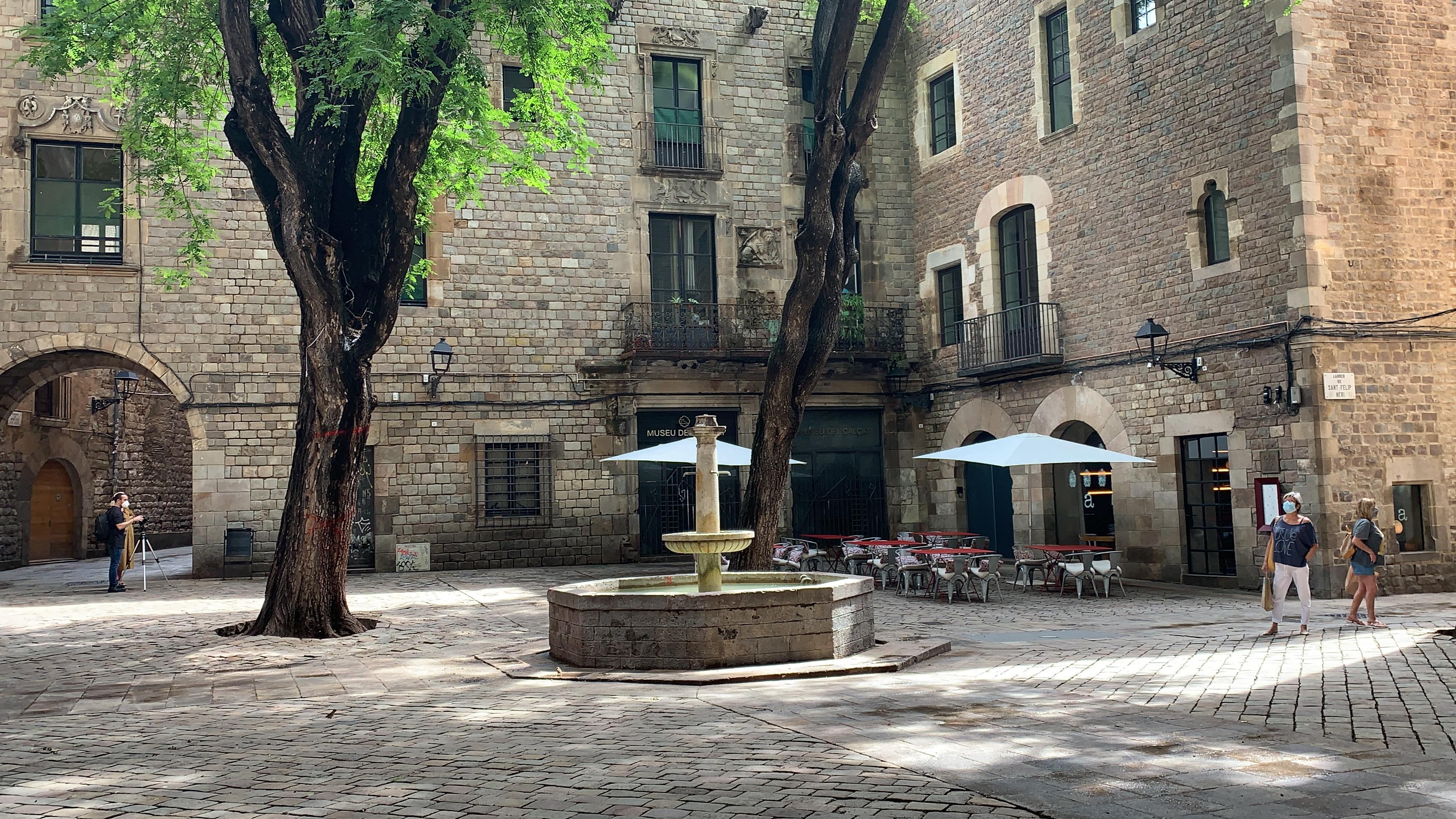 St. Felip Neri square