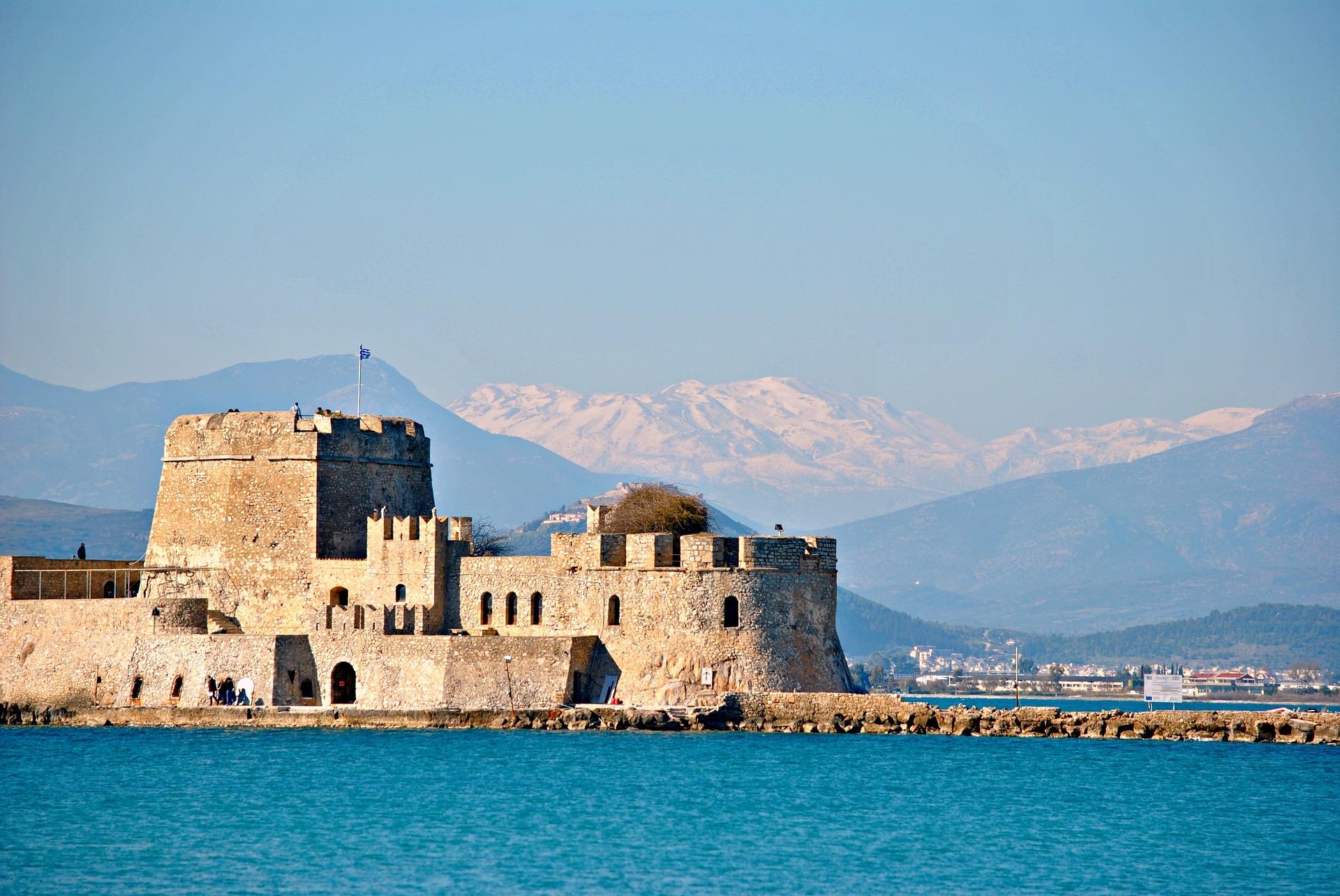 Venitian castle, Nafplion