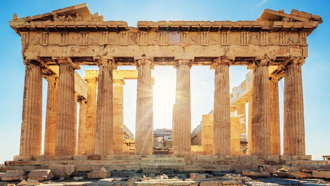 The majesty of The Parthenon