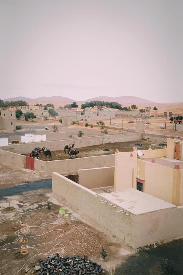 Desert small village