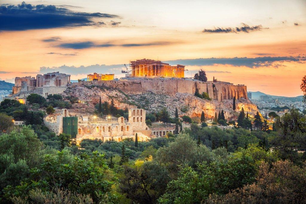 The stunning Acropolis Rock