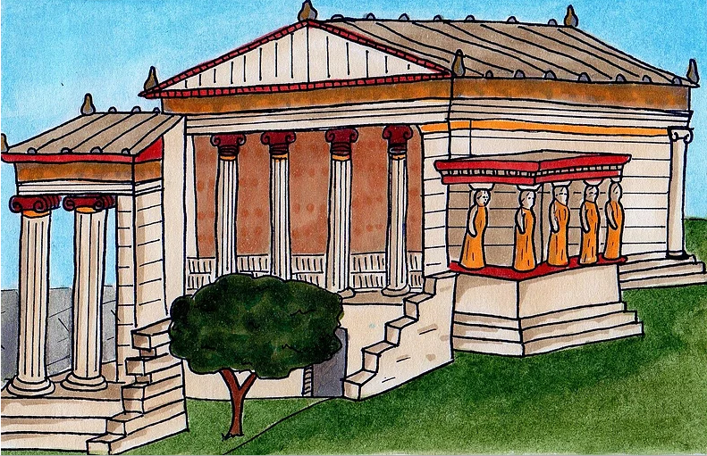 The Erechtheion Temple
