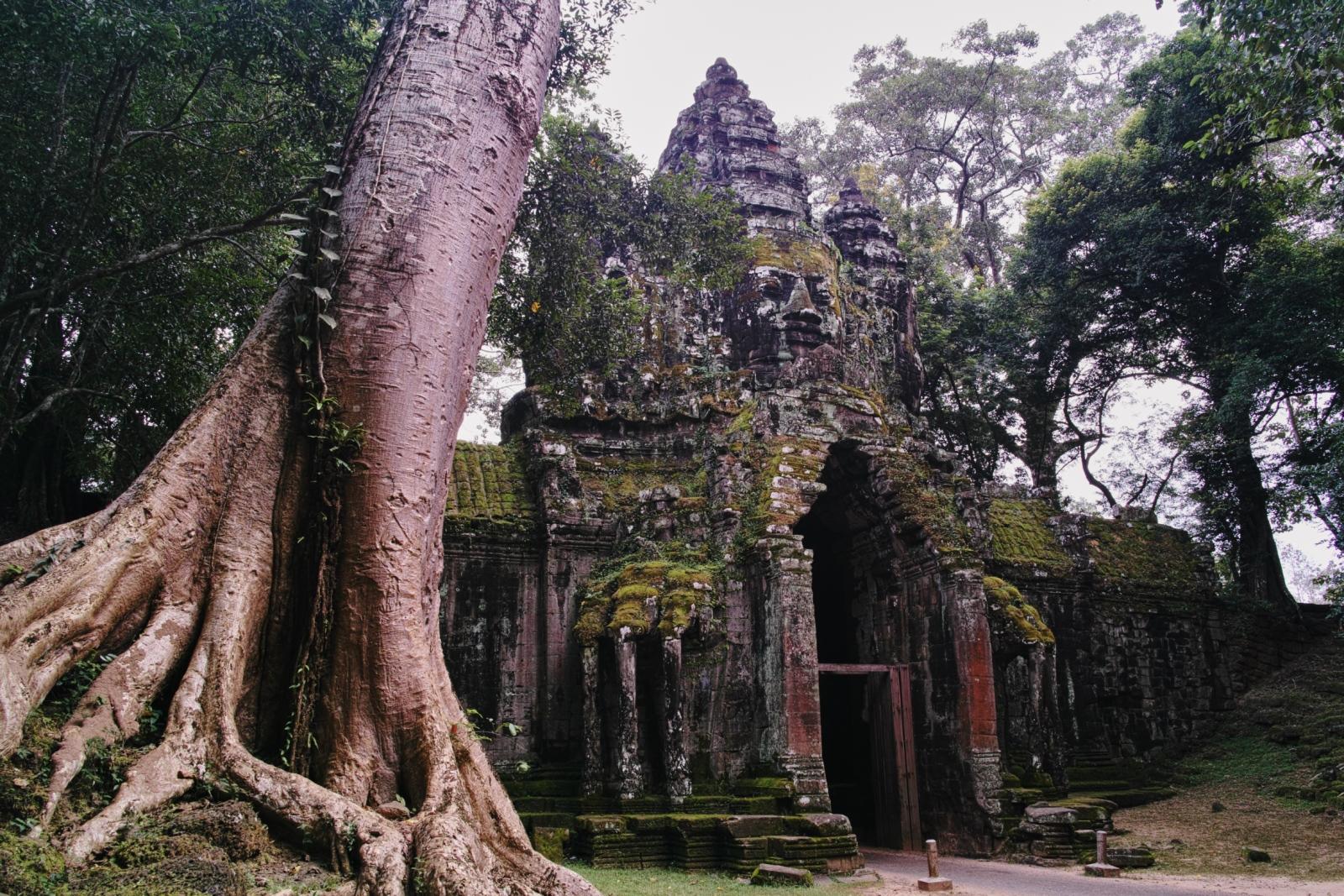 Gate of Angkor Thom