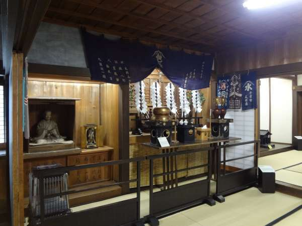 Shinto altar at Former Togawa Residence