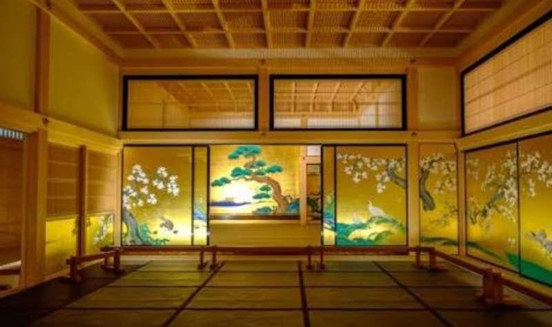 名古屋城本丸御殿内部。作为尾张国的政府以及藩主的房子而修建的。