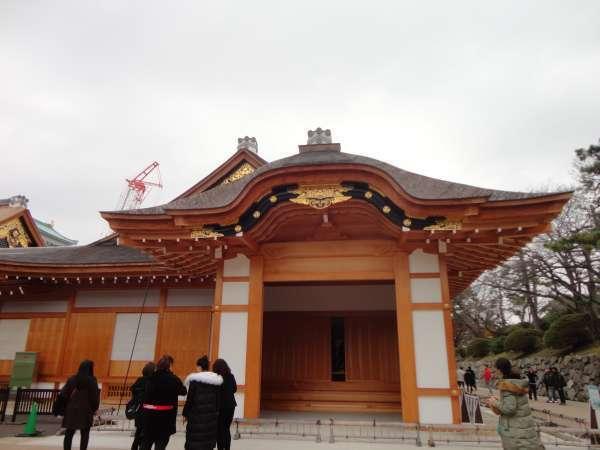 Honmaru (the keep of a castle)