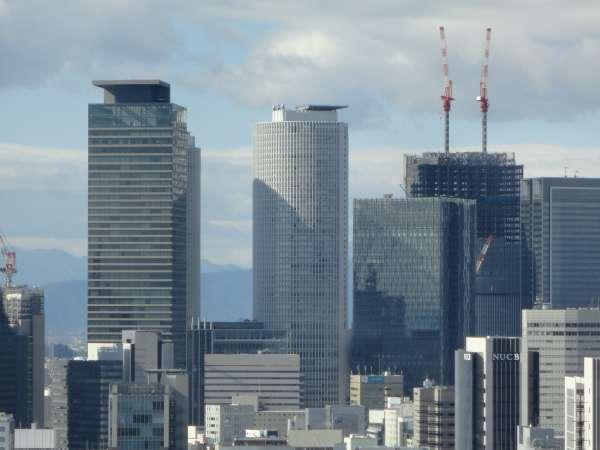 High-rise buildings Around Nagoya Station