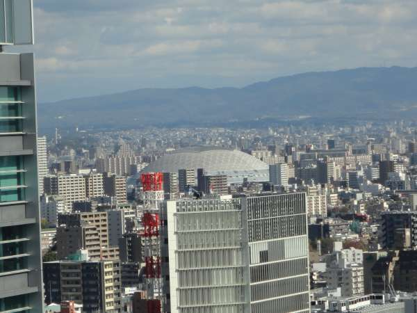 Nagoya Dome viewed from Nagoya TV Tower