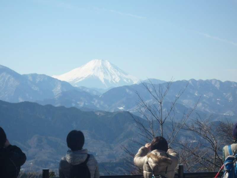 Great view of Mt. Fuji.