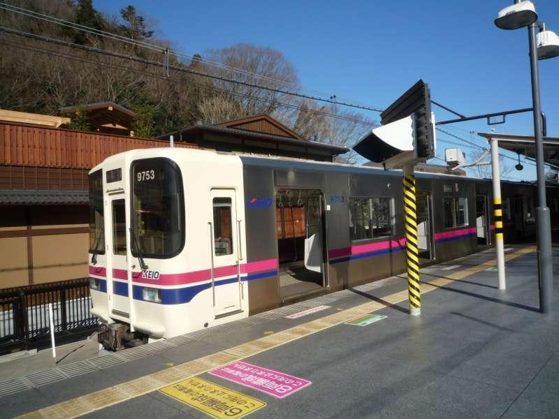 Keio line train.