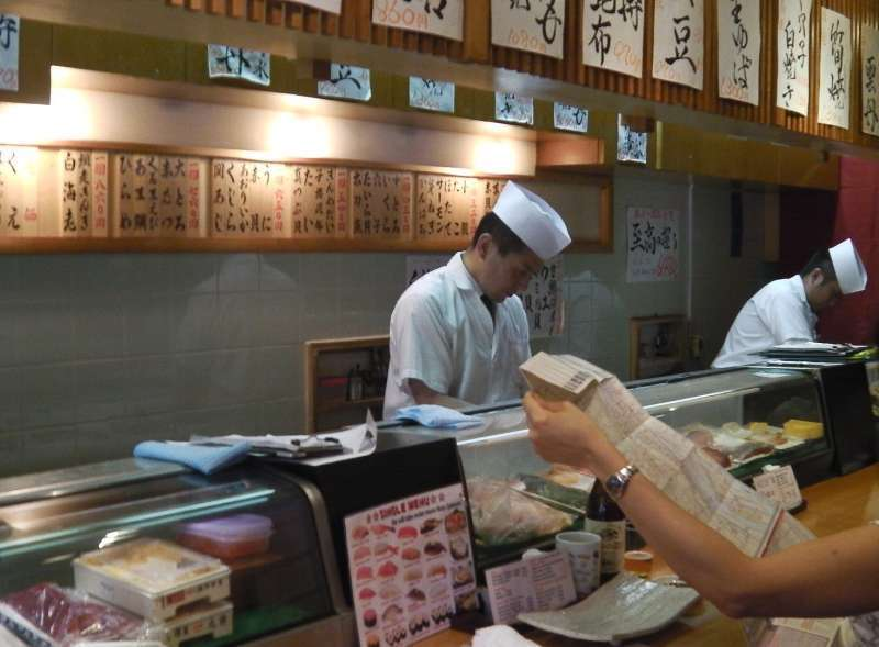 S1.Tsukiji Outer Market (Sushi bar in Outer Market)