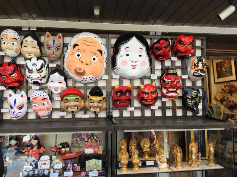 T2. Asakusa and Senso-Ji Temple (Souvenir shop in Nakamise-Dori street)