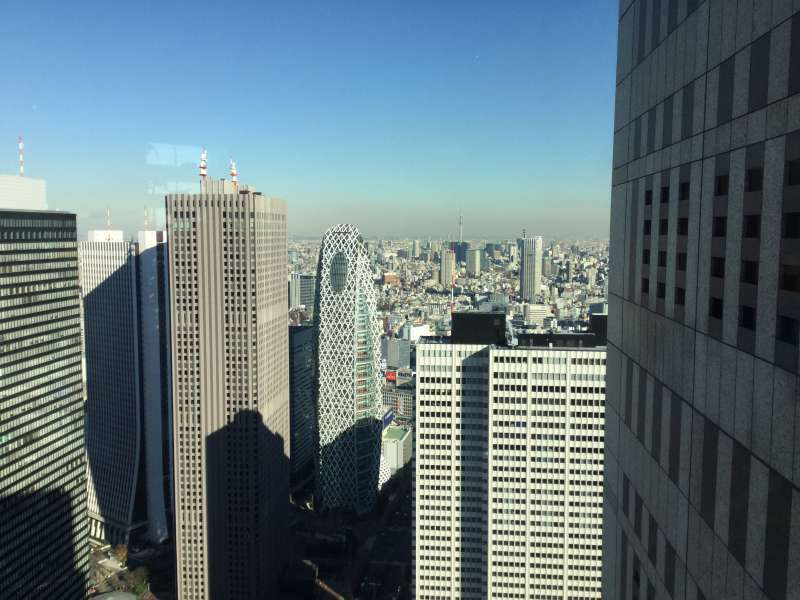 O3. Tokyo Metropolitan Government Observatory (Its view from 200 m)