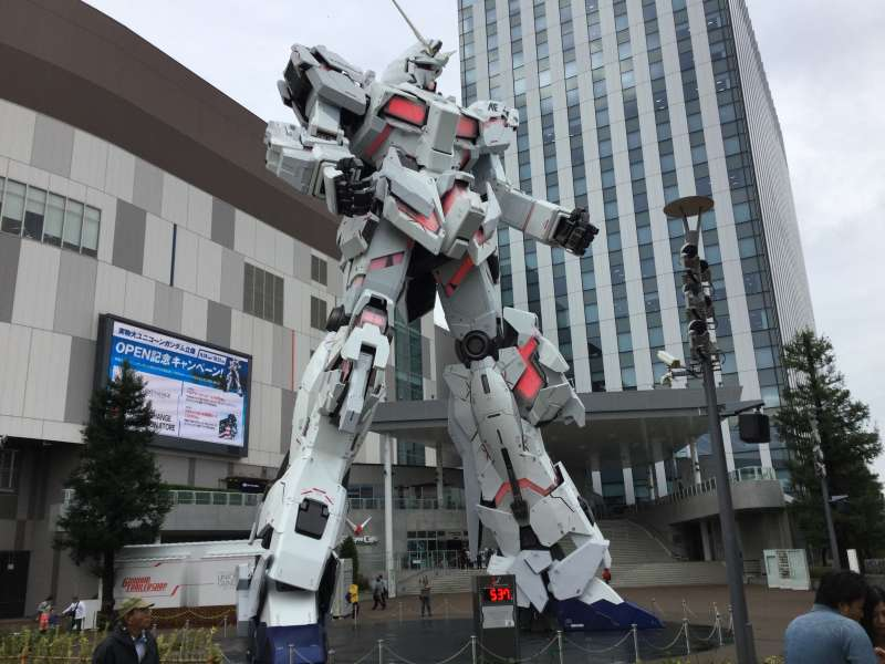 S5. Odaiba (The Statue of Gandum at DiverCity)