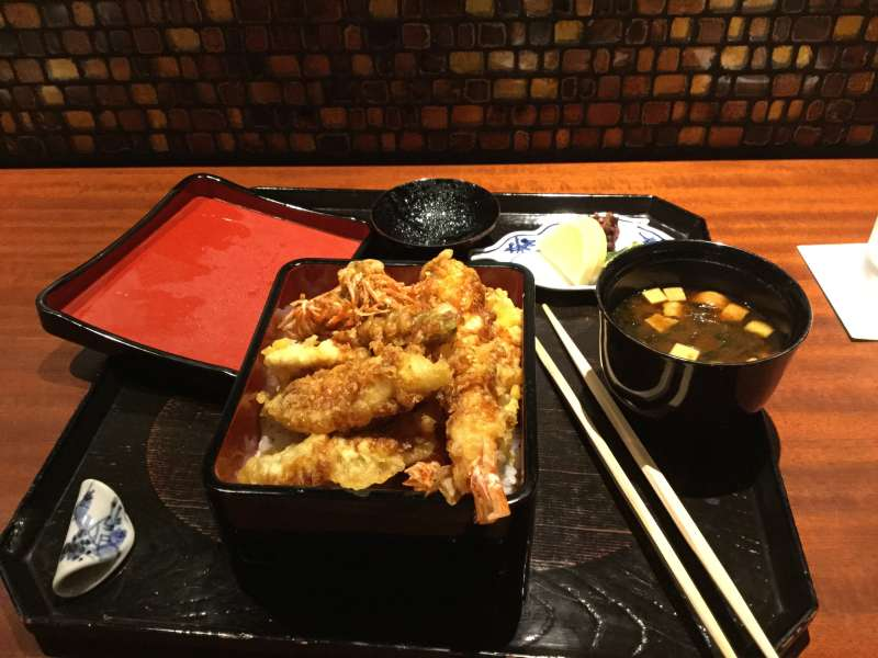 S2. Ginza (Tendon at Ginza Six, Food court of famous restaurants)