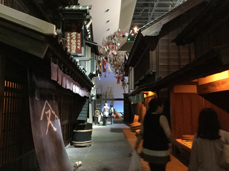 M6. Fukagawa Edo Museum (Real scale model of a street in Edo)