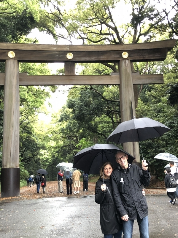 Largest wooden Torii gate in Japan.