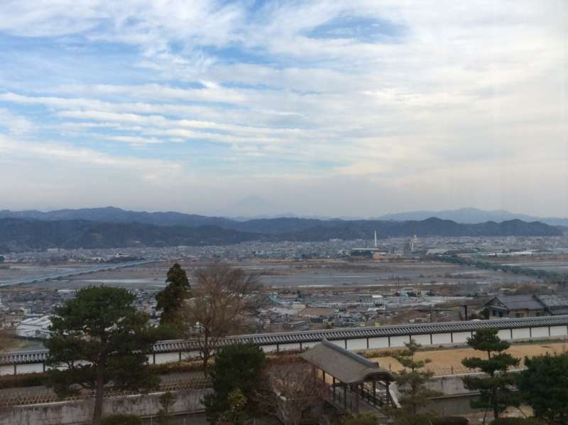 The view from the World Tea Museum