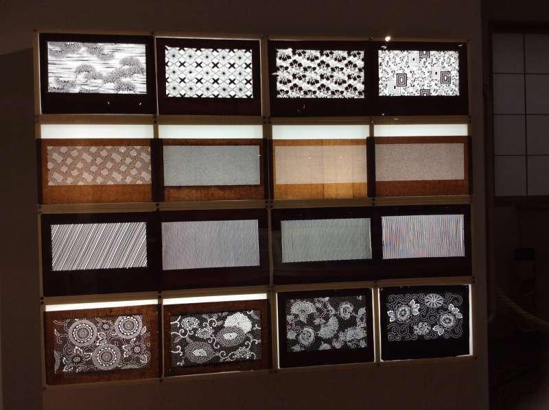 Traditional Edo Komon patterns