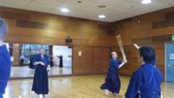 Try doing Kendo techni