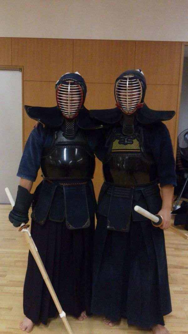 Let's wear Kendo gear !