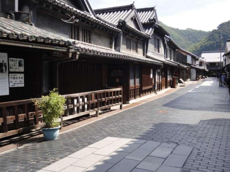 Preserved townscape in Takehara