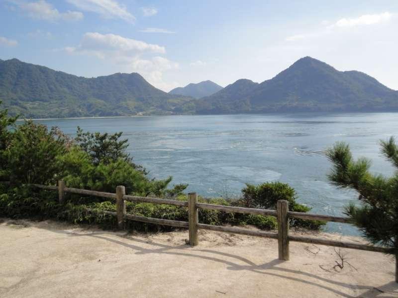 The calm and serene inland sea