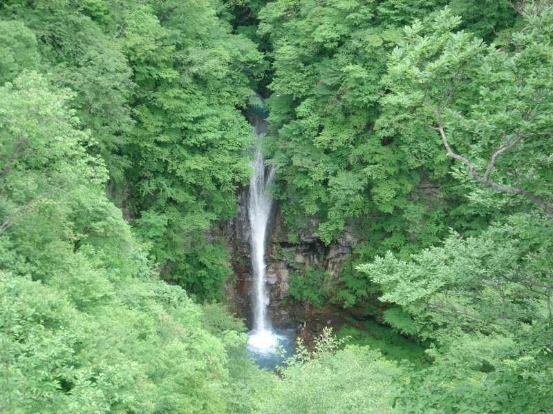 Komadome waterfall