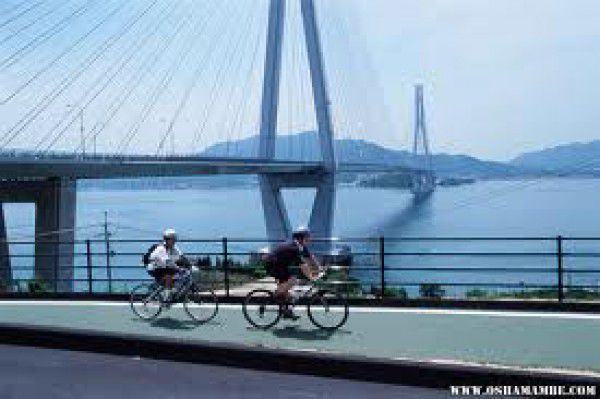 "I can guide you from Honshu Main Island to Shikoku Island through various islands and bridges. This route is called ""Shimanami Highway"" with fantastic cycling road (one of the most beautiful cycling road in the world. You'll feel like flying above the sea when you are running on bridges.)"