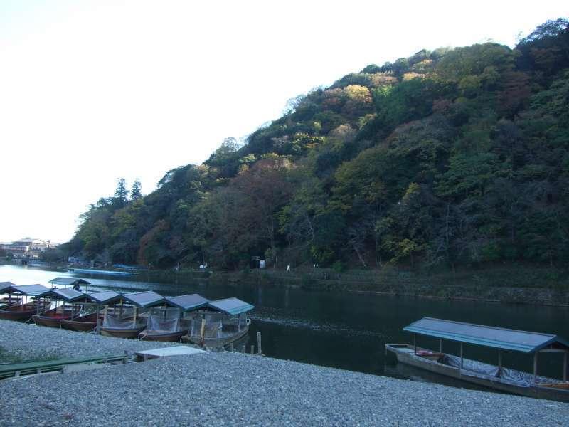 嵐山與桂川(河)