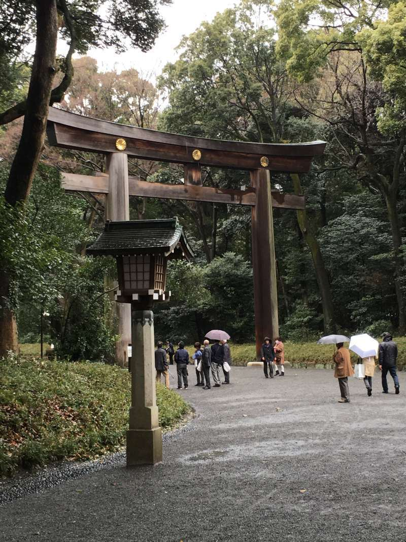 second Torii Gate to Main Shrine