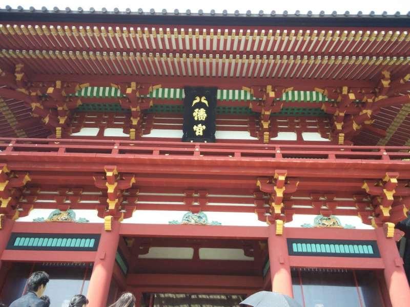 Popular spot, Tsurugaoka Hachiman Shrine in Kamakura