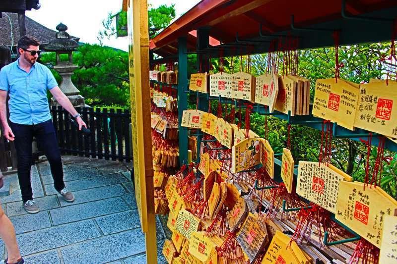 Kiyomizu temple. Ema.