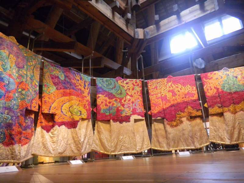 Kubota Itchiku museum of Kimono (Optional)