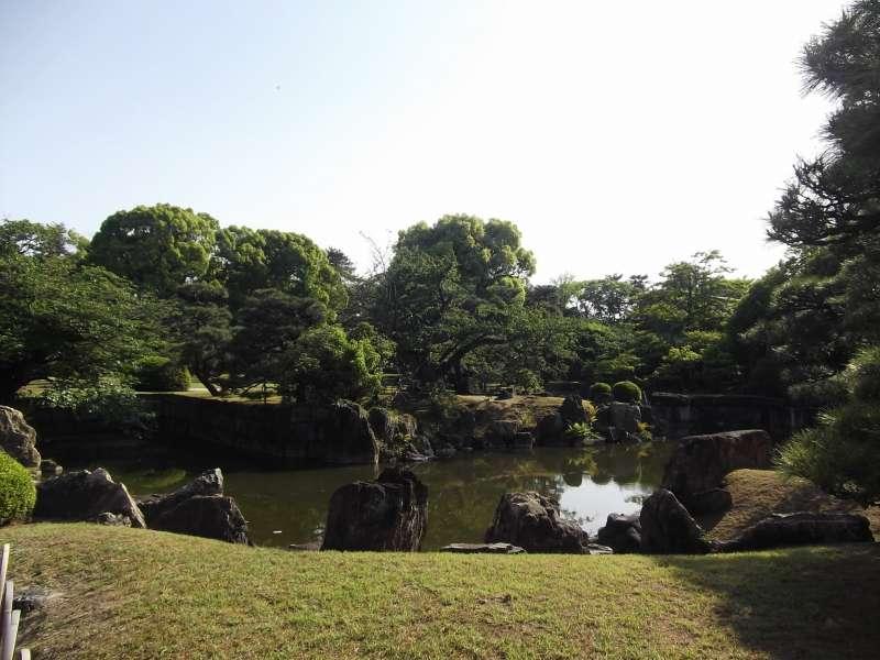 Ninomaru Garden in Nijo-jo Castle, a creation of a master garden designer.
