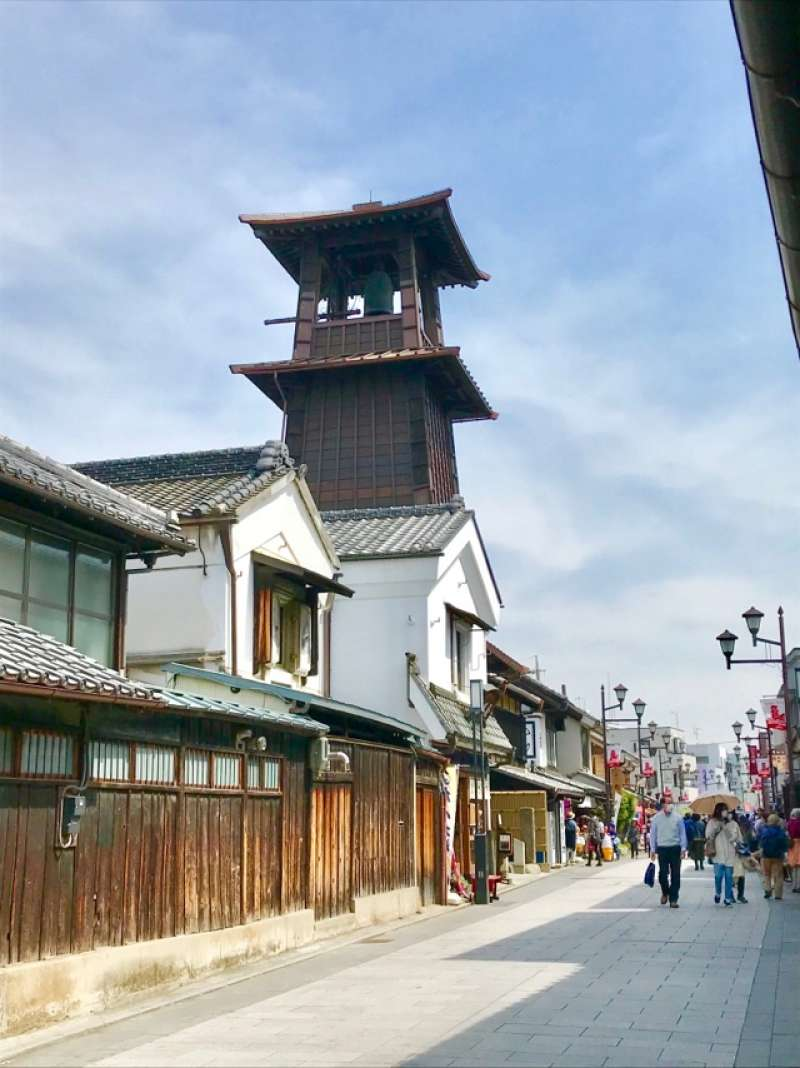 Time Bell Tower : symbol of Kawagoe