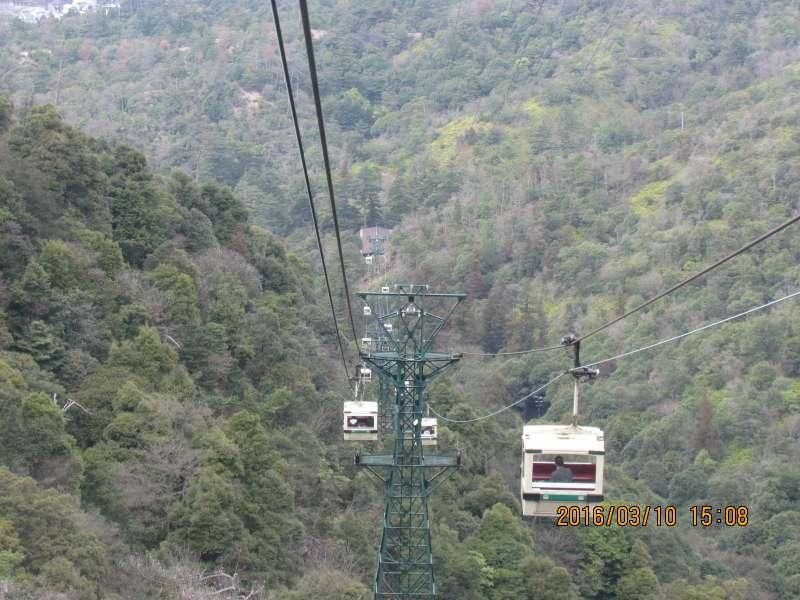 Ropeway to Mt.Misen