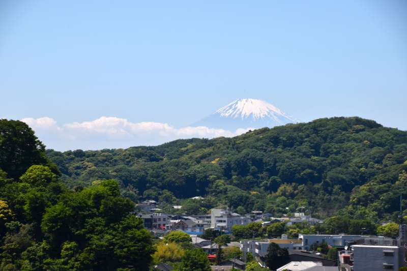 View from Sugimoto-dera temple