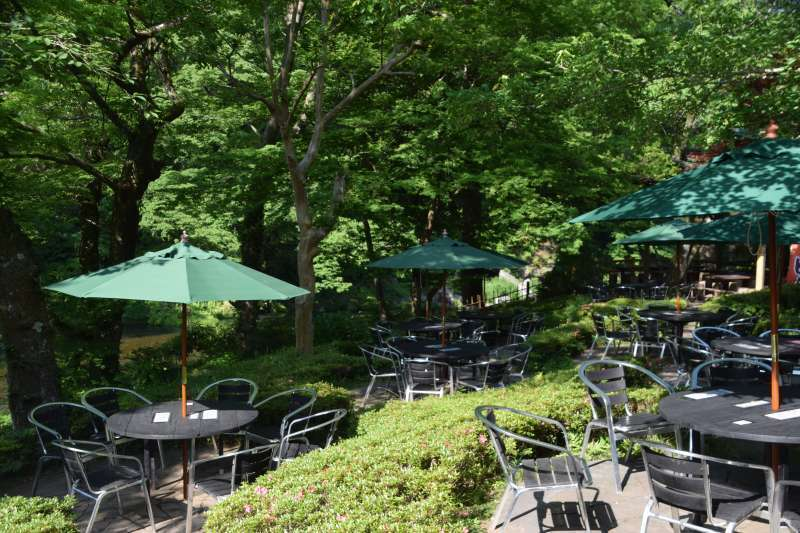 Garden Restrant of Ozawa Shuzo, Sake brewery