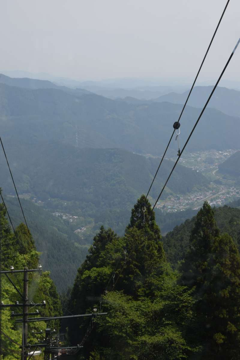 View from Mitake Tozan Railway