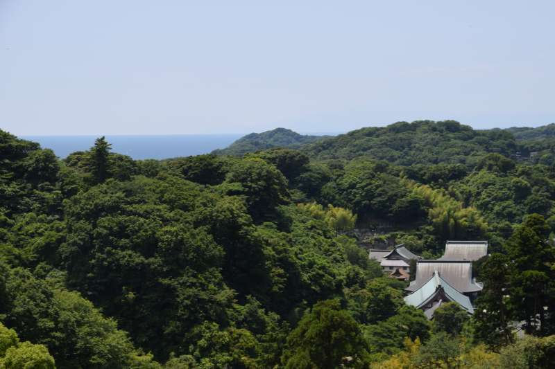 View from Hanzobo, Kencho-ji Temple