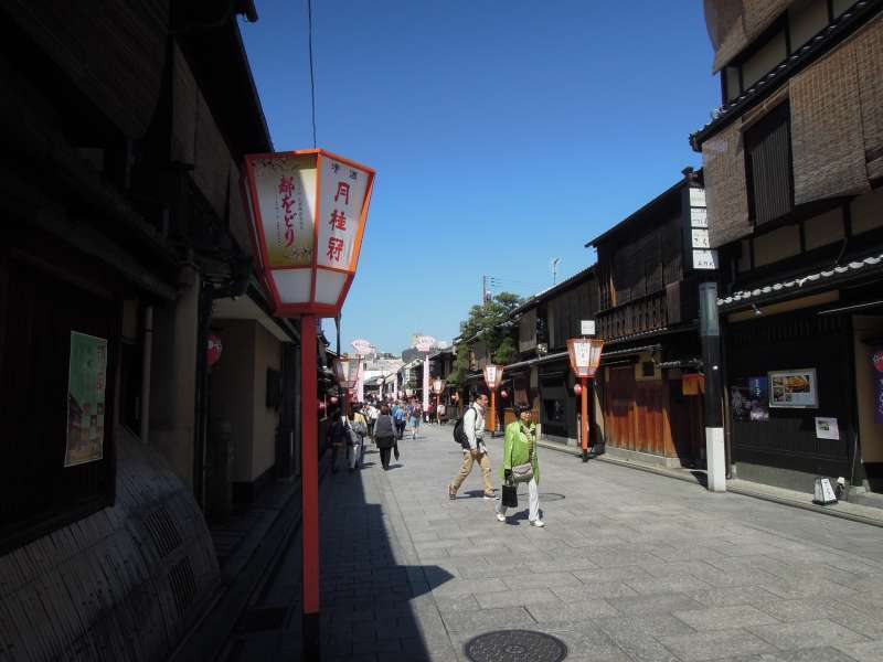 Gion Street ( A location of the movie