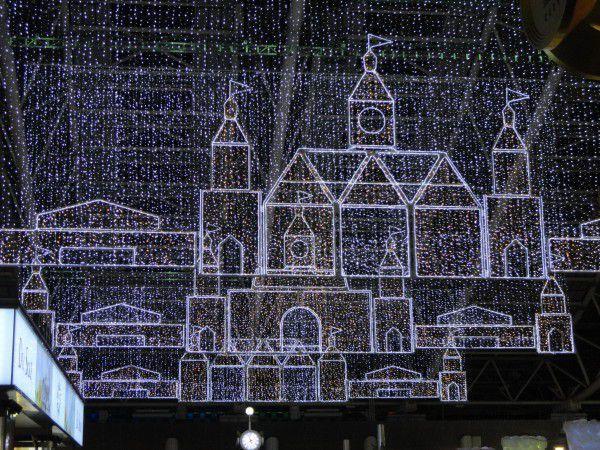The illumination of Osaka Station City