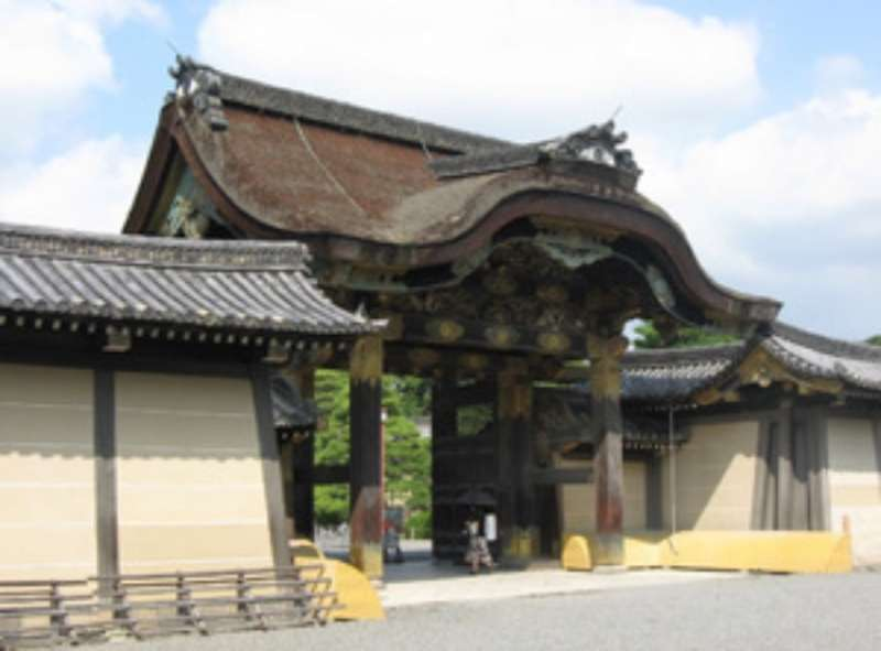 Chinese style gate