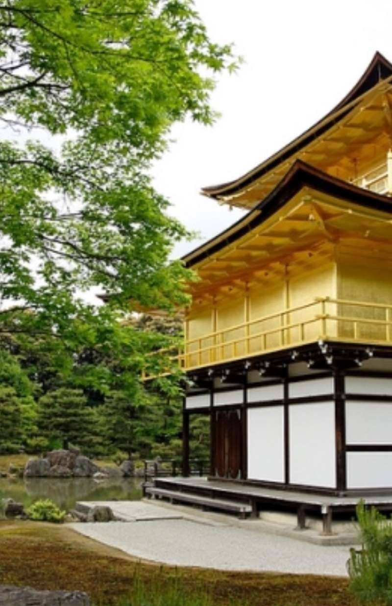 a closer look at the Golden Pavilion