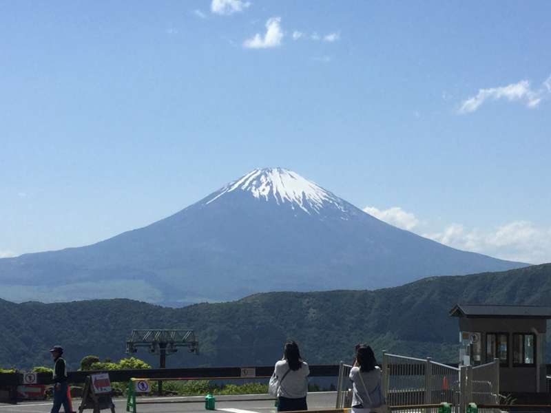 Mt. Fuji from Owakudani (Closed since May 19th, 2019)